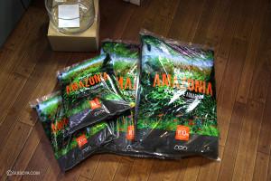 アマゾニアの新パッケージを販売